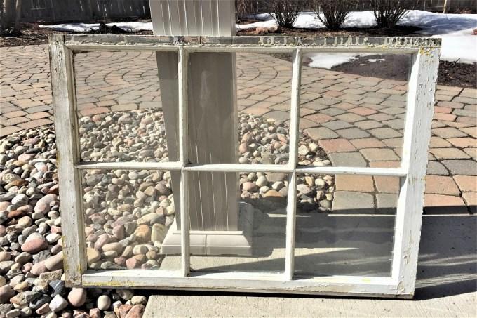 farmhouse window, chippy window, old window