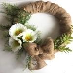 Spring Wreath-Dollar Store DIY  (With a Small Fail)