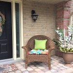 Spring Planter for a Spring Porch