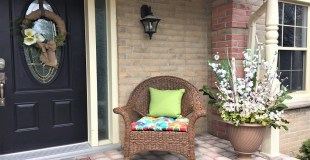 Spring Planter for a Spring Porch
