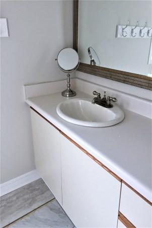 old vanity and sink