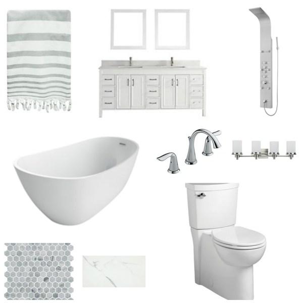 Master Bathroom Renovation Vision Board Kay S Place