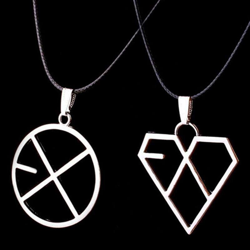 Pendant Necklaces 2018 EXO Necklace - The Kdom