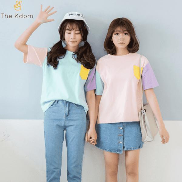 EXO Colorful TShirt - The Kdom