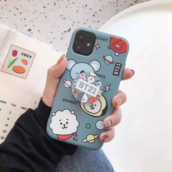 Fitted Cases BT21 Soft Phone Case - The Kdom