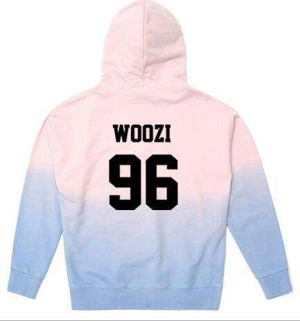 Hoodies Seventeen Gradient Color Hoodie - The Kdom