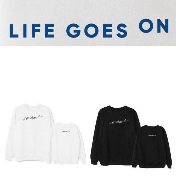"Agasalhos e Moletons ""Life Goes On"" New Sweatshirt - The Kdom"