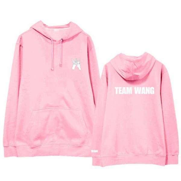 Hoodies & Sweatshirts GOT7 Team Wang New Hoodie - The Kdom