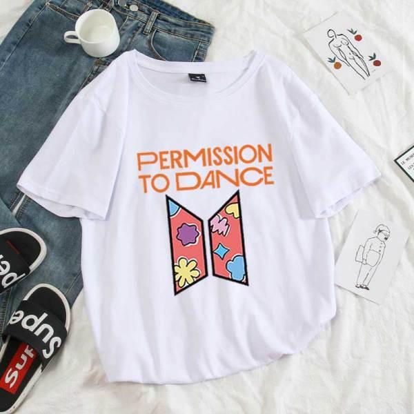 T-Shirts Permission to Dance New Tshirts - The Kdom