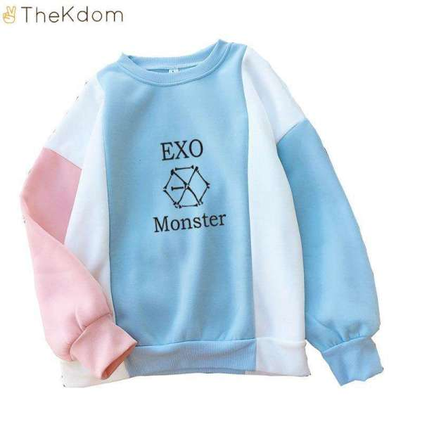 EXO Colorful Thick Sweatshirt - The Kdom