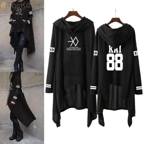 Hoodies & Sweatshirts EXO New Long Pullovers - The Kdom