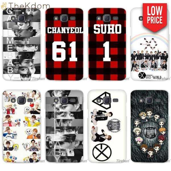 Half-wrapped Case EXO Phone Case For Samsung J Series - The Kdom