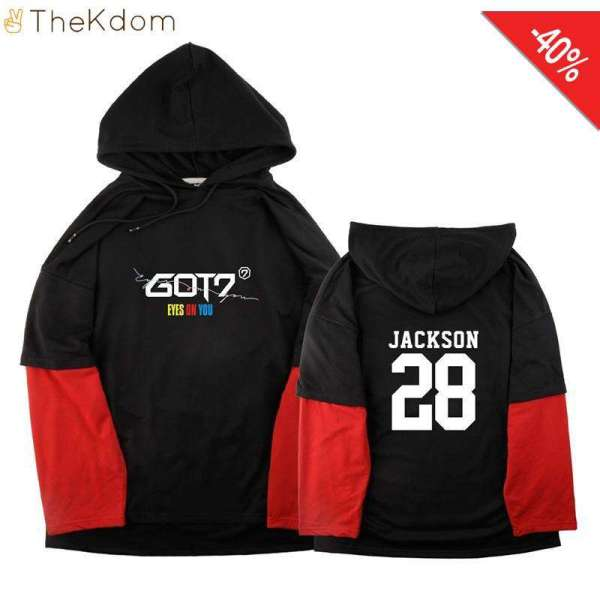 Hoodies & Sweatshirts GOT7 2018 World Tour Pullovers - The Kdom