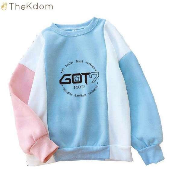 GOT7 Colorful Thick Sweatshirt - The Kdom
