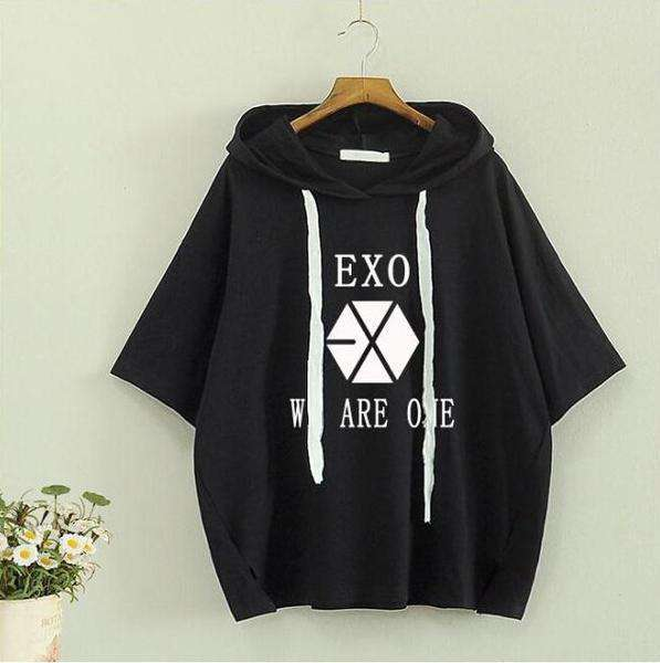 """T-Shirts EXO """"WE ARE ONE"""" Shirt - The Kdom"""