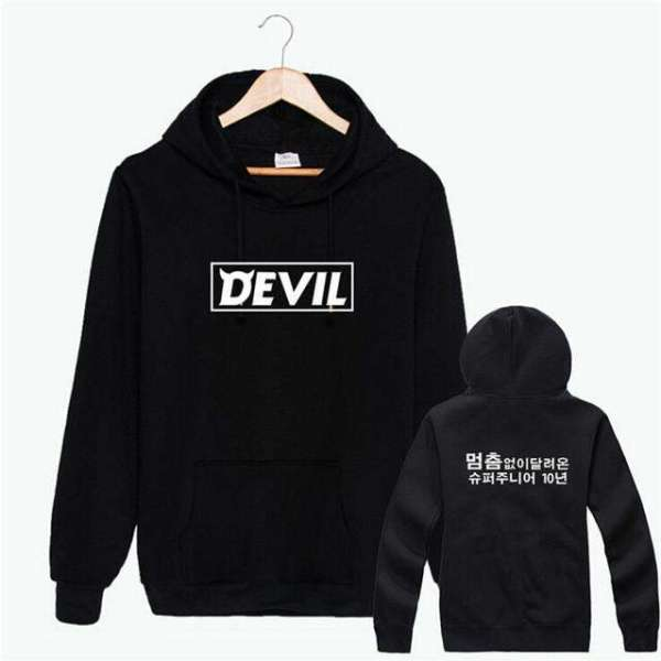 """Hoodies Super Junior """"Devil"""" Hoodies - The Kdom"""
