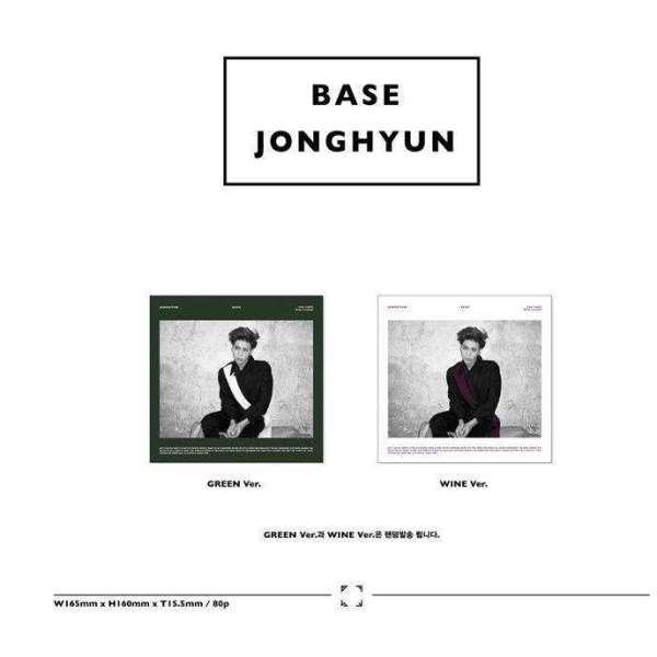 See more Base [1st Mini Album] by Jonghyun (CD, Jan-201... SHINee JongHyun - 1st mini [BASE] Green or Wine - The Kdom