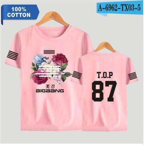 T-Shirts 100% Cotton BigBang T-shirt - The Kdom