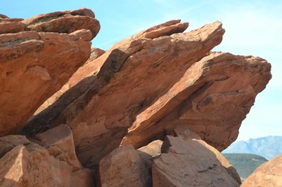 Red Rocks at Pioneer Park in St. George, UT
