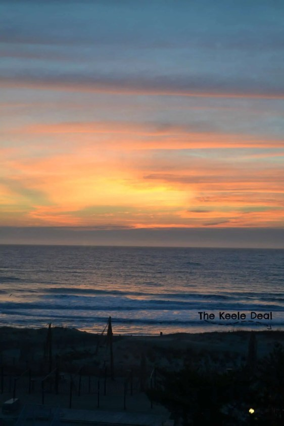 Ocean City Sun Rise - No Filter Tips for Visiting Ocean City, MD in February #Winter #oceancity #maryland #travel #beach