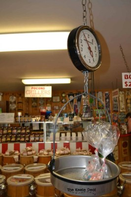 Candy Store Scale - Country Kettle Candy Store Pocono Mountains, PA