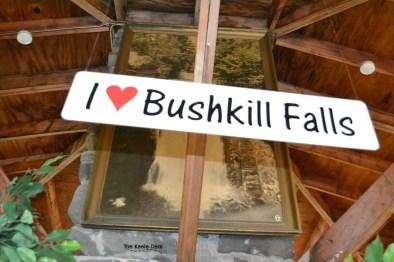 I heart bushkill falls
