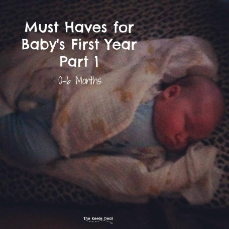 Must Haves for Baby's First Year Part 1: 0-6 Months Looking back there are quite a few things that made the first year easier and some that were vital for us. Today I want to share with you our must haves for baby's 1st year and why.