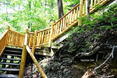 Stairs at Bushkill Falls