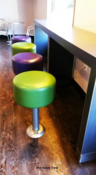Fractured Prune Doughnuts benches