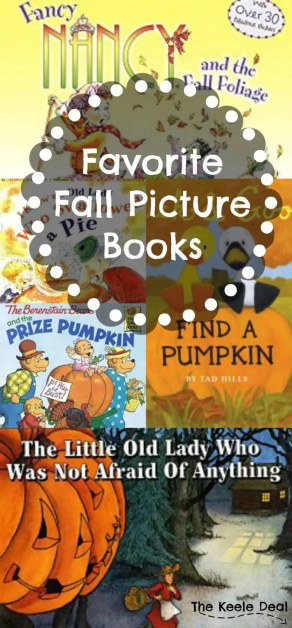 Favorite Fall Picture Books. As the air gets cooler it seems like it's more fun to cuddle up and read picture books. Here are a few of our favorite Fall Picture Books.
