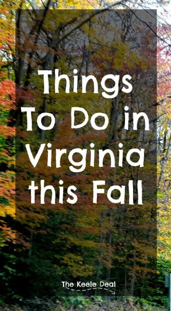 Things to Do in Virginia this Fall