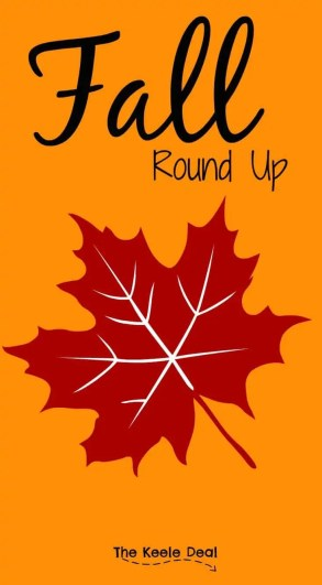 Here is a fall round up with some great ideas to help make this fall great! Including Fall Decorations, Books, Activities and more. thekeeledeal.com