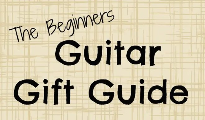 Is there someone in your life that would love to learn how to play the guitar? This gift guide includes everything the beginner guitarist would need, along with the an explanation about the item. My husband, Jared has been playing for years both acoustic and electric guitar, he was even in a band in high school. With his help we have put together The Beginners Guitar Gift Guide.