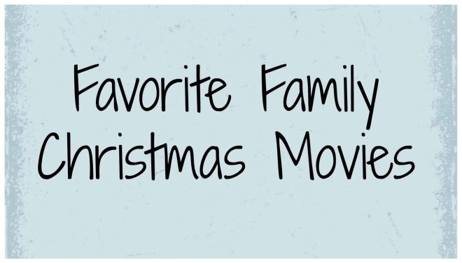 One of my favorite things about Christmas is all of the fun Holiday movies, music and books! Here are our family's favorite Christmas Movies. Have you ever watched #13?