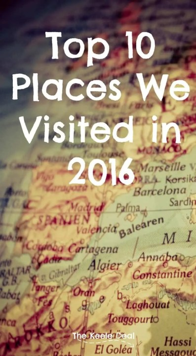 Top 10 Places We Visited in 2016