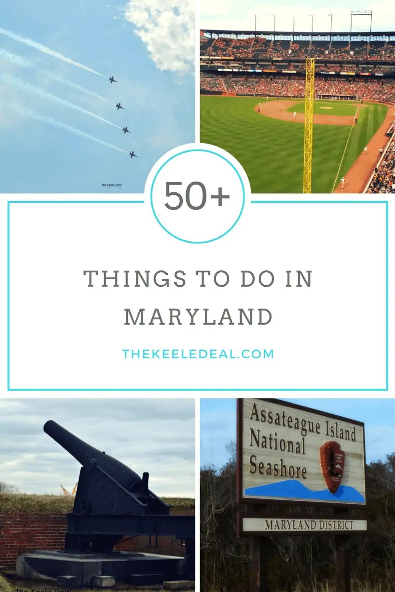 The Ultimate Maryland Bucket List. 50+ Things to do in Maryland