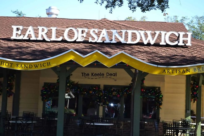 The earl of sandwich is a sandwich shop that has sandwiches, wraps, brownies and other cafe/bakery type foods. thekeeledeal.com #florida #travel #food #disney