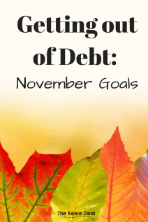 November Goals: We are ready to hit our debt to the curb. In our last post, we shared our debt story and plan for getting out of debt. #money #debt #goals