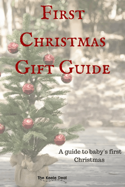 For baby's first Christmas I usually break the gifts down into two groups fun and practical. Because they are so young most of the gifts are practical. The best part? Most of these gifts are under $10 #christmas #giftguide #baby #firstchristmas #christmasgiftsideas