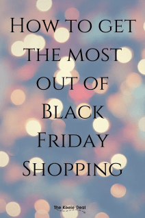 How to get the most out of Black Friday Shopping. Tips and advice for saving the most money. #blackfriday #shopping #savingmoney #holidays #christmasshopping #blackfridayshopping