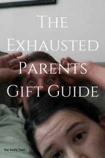The Exhausted Parents Gift Guide, these gifts are perfect for new parents as well as seasoned parents. thekeeledeal.com #tiredparents #giftguide #giftideas #christmasgiftsideas #holidaygifts #christmas #giftsideas