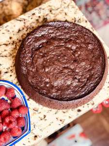 Low Carb Flourless Chocolate cake
