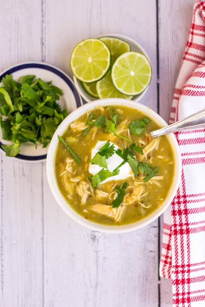 low carb Chicken Chile Soup
