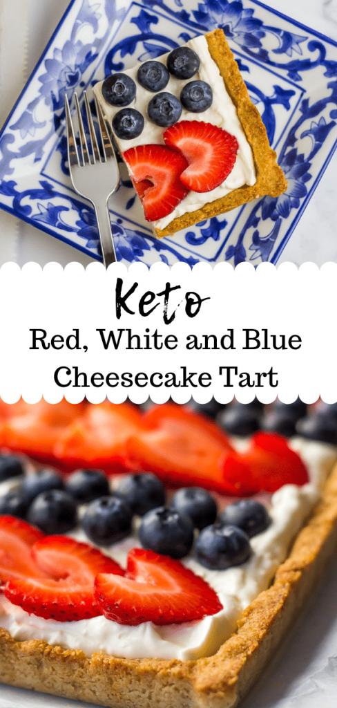 Keto 4th of July Dessert