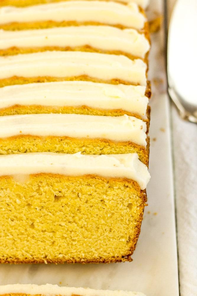 Keto Lemon Pound Cake