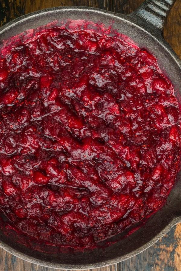 Sugar Free Keto Cranberry Sauce
