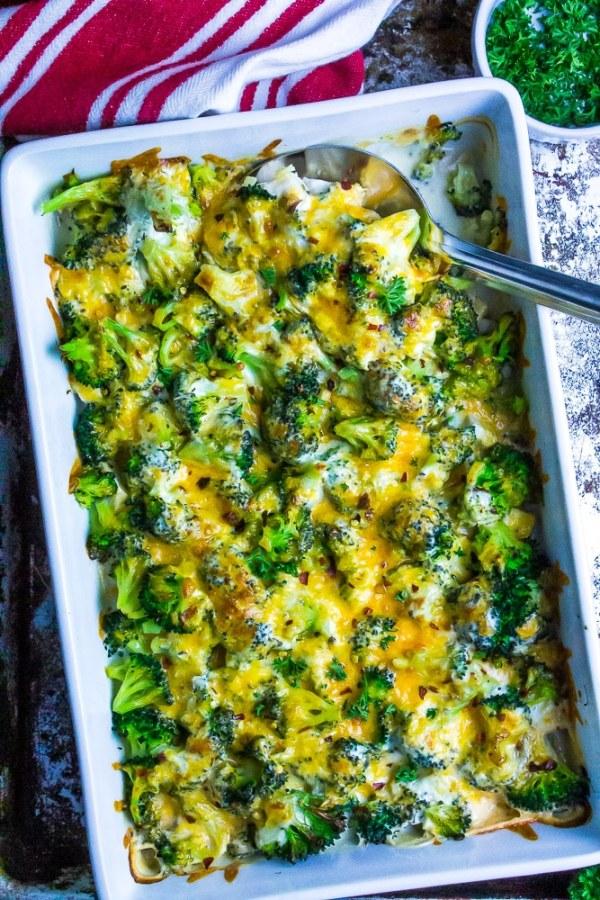 Chicken Broccoli Cheddar Casserole