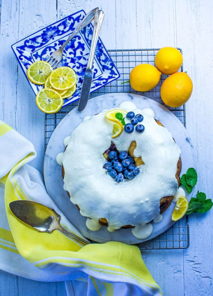 A delightful and refreshing citrus-y dessert.