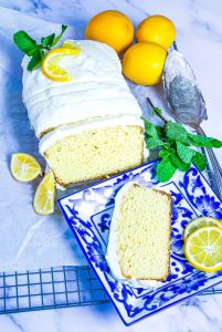 Low Carb Lemon Pound Cake