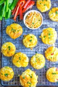 Keto Cheddar Muffins